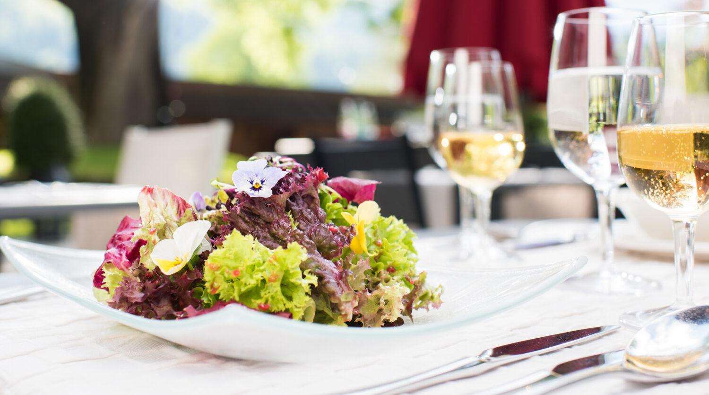 Foodfotografie, Salat, Hotel Kreuz Lenk, Foodstyling, David Schweizer