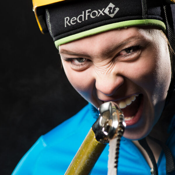 Saas-Fee, Ice Climbing Worldcup 2015, Eisklettern, Portraits Top Ten Speed Leed, UIAA, Ekaterina Feoktistova, RUS; davidschweizer.ch