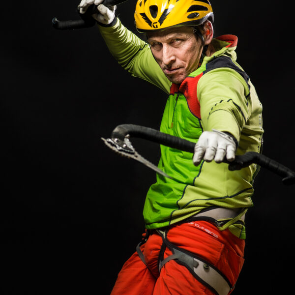 Saas-Fee, Ice Climbing Worldcup 2015, Eisklettern, Portraits Top Ten Speed Leed, UIAA, Sergey Tarasov, RUS; davidschweizer.ch