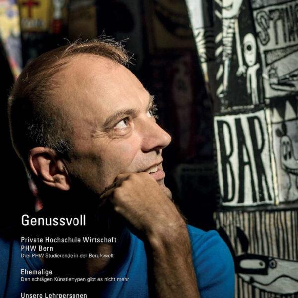 Feusi Bildungszentrum Bern und Solothurn, Imagebilder, Peoplefotografie, Editorial, Schule, Cover; David Schweizer