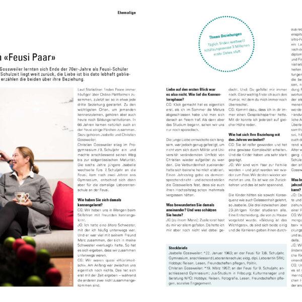 Feusi Bildungszentrum Bern und Solothurn, Imagebilder, Peoplefotografie, Editorial, Schule, Reportage; David Schweizer