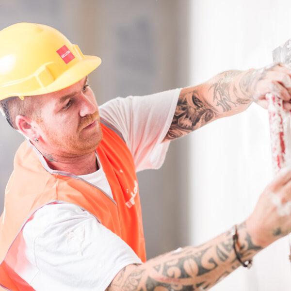 Baustellenfotografie, Frutiger AG, Arbeiter, Imagebilder; © davidschweizer.ch