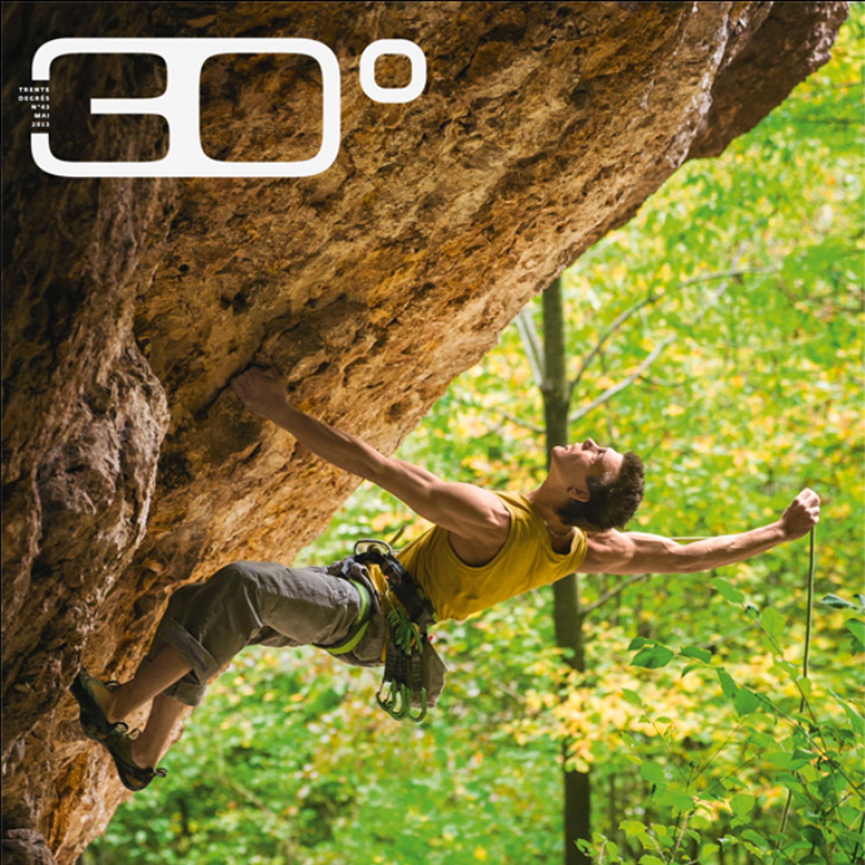 30° Degrés Magazine, Outdoorfotografie, Kletterfotograf, Sportfotografie, Klettern