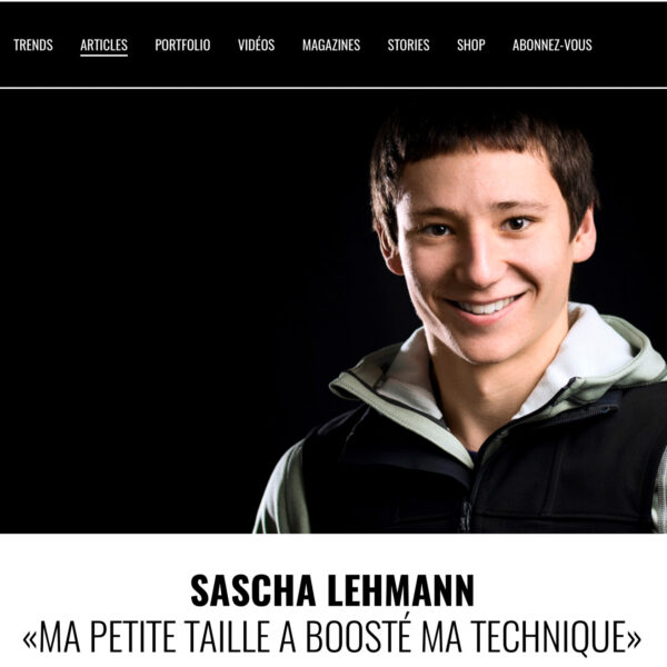 30° Degrés Magazine, Sascha Lehmann, Kletterfotograf, Sportfotografie, Klettern