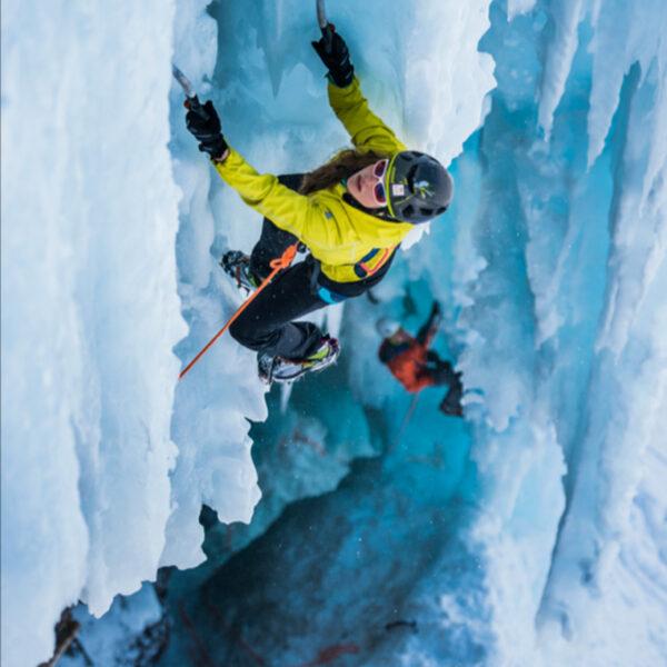 30° Degrés Magazine, Eisklettern, Outdoorfotografie, Kletterfotograf, Sportfotografie, Klettern