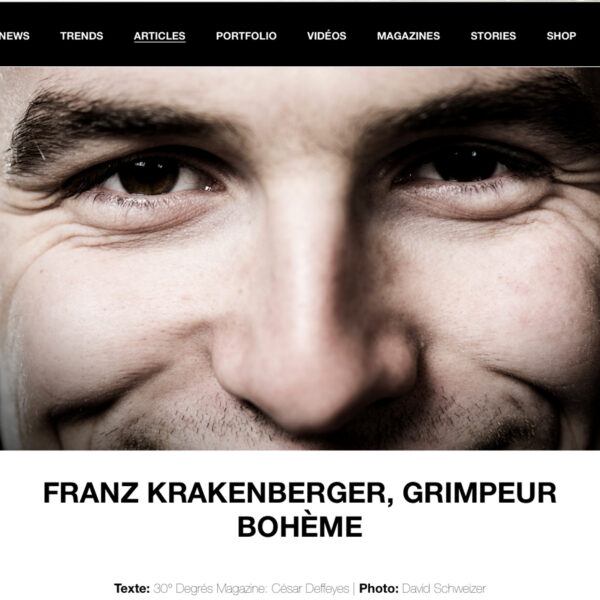 30° Degrés Magazine, Bouldern, Kletterfotograf, Franz Krakenberger, Sportfotografie, Klettern