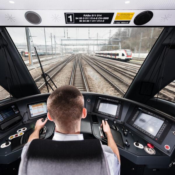 ZBB, Zukunft Bahnhof Bern, SBB, CFF, FFS, Schweizerische Bundes Bahnen, Image Bilder, Markenkommunikation, Imagekampagnen, Lokomotivführer, Lokführer; David Schweizer