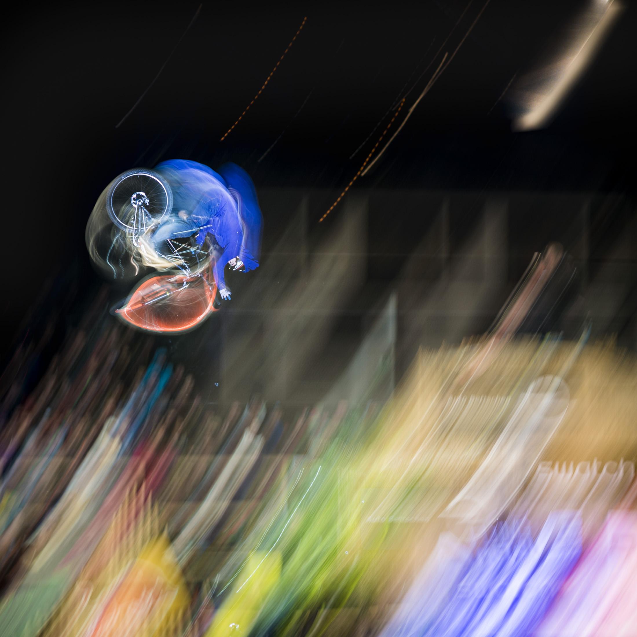 Swatch Rocket Air, Slopstyle 2016, Thun, Eishalle Grabengut, Bike, Eventfotografie, Sportfotografie; davidschweizer.ch