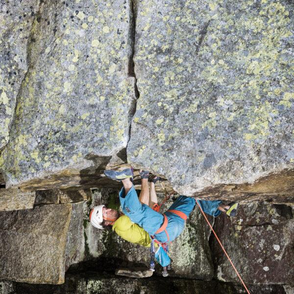 Grimsel, Klettern, Climbing, Sportfotografie, Outdoorsport, Yannick Glatthard, Silvan Schüpbach, Felsklettern, Route bei der Aare 7c; David Schweizer